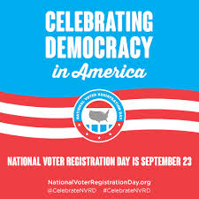 NATIONAL VOTER REGISTRATION LOGO