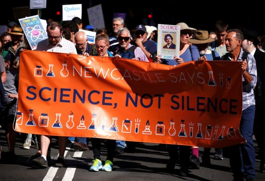 SCIENCE MARCH SYDNEY AU