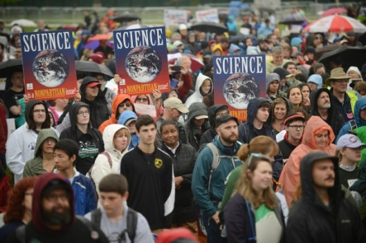 SCIENCE MARCH WASHINGTON DC