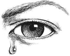 CRYING EYE ETCHING